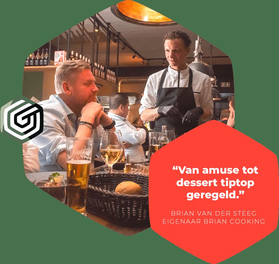 Netwerkborrel diner vergaderen Harderwijk