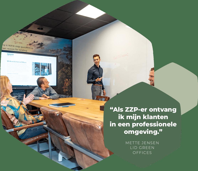 Vergaderen bij Green Offices Harderwijk