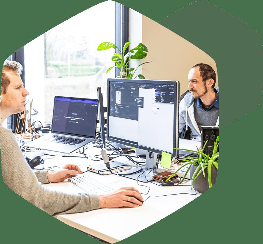 Coworking faciliteiten kleine en grote kantoren